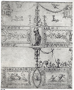 Design for a Grotesque Decoration