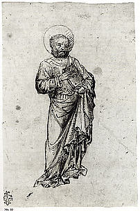 Standing Apostle or Saint