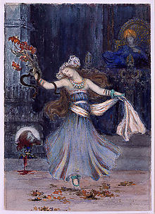 Salomé Dancing Before the Head of St. John the Baptist
