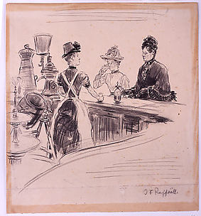 Women at the Counter
