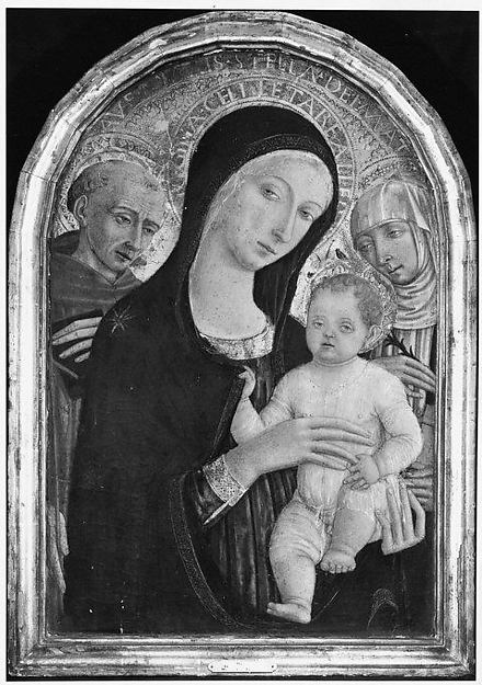 Madonna and Child with Saints Francis and Catherine of Siena