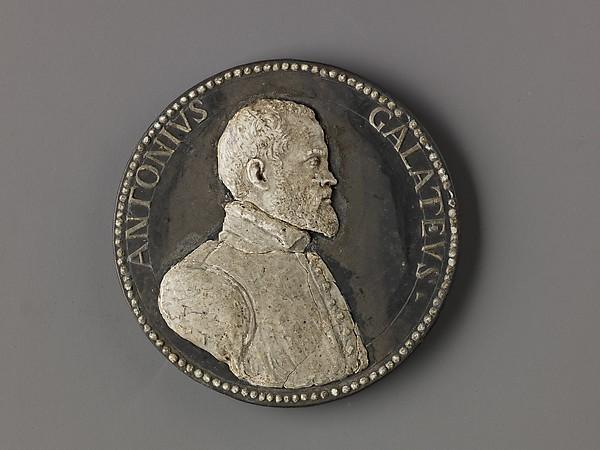 Model for a Medal: Antonio de Ferraris (Il Galateo)