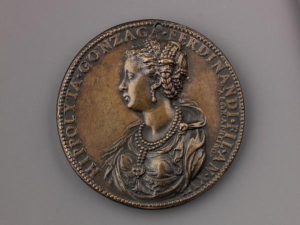 Medal:  Ippolita Gonzaga