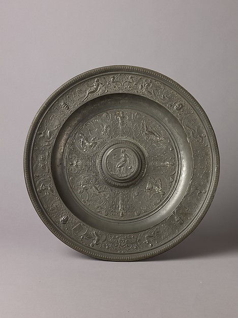 Basin (so-called Temperance Dish; see also Ewer, 1975.1.1473)