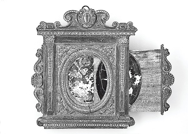 Tabernacle mirror frame