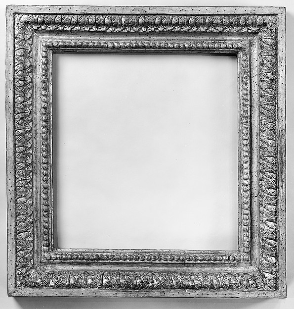 Frame made from fragment of architectural molding