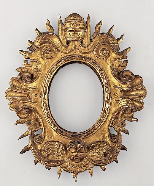 Monstrance or Agnus Dei frame