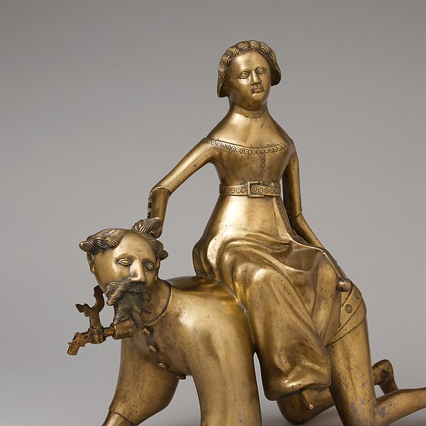 Aquamanile in the Form of Aristotle and Phyllis