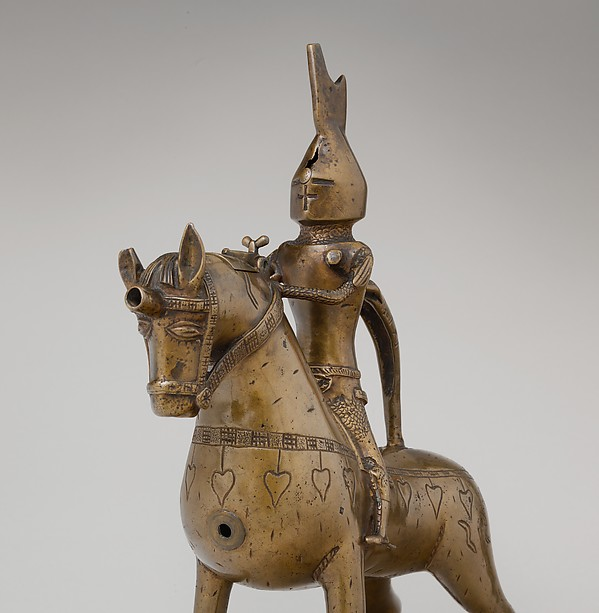 Aquamanile in the Form of a Knight on