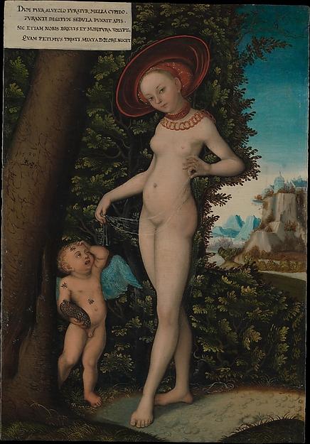 Venus with Cupid the Honey Thief