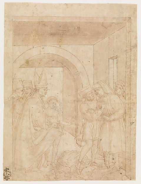 Saint Francis Before the Bishop