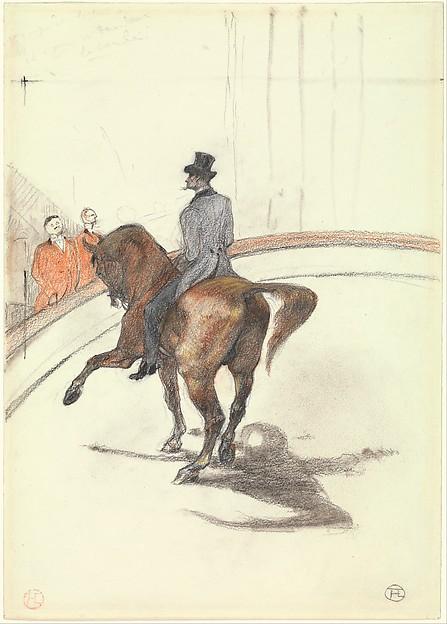 At the Circus: The Spanish Walk (Au Cirque: Le Pas espagnol)