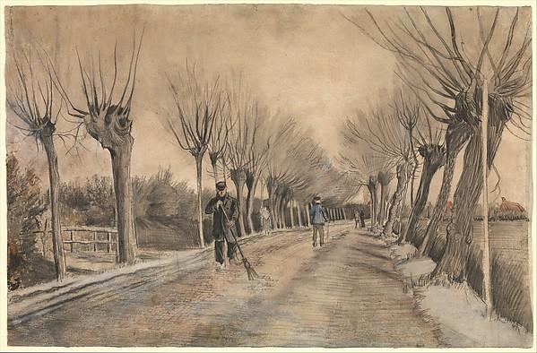 Road in Etten