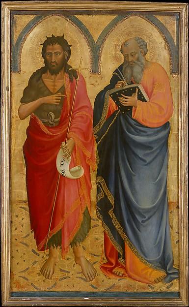 Saints John the Baptist and Matthew