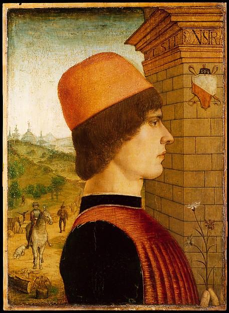 Portrait of a Man, possibly Matteo di Sebastiano di Bernardino Gozzadini