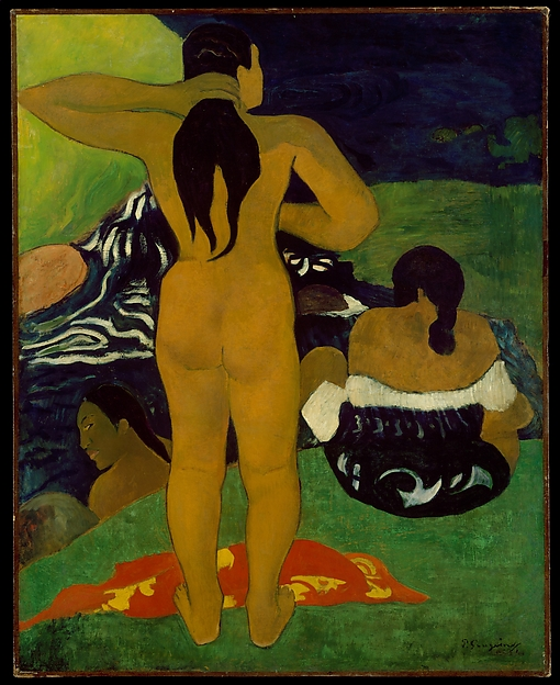Tahitian Women Bathing