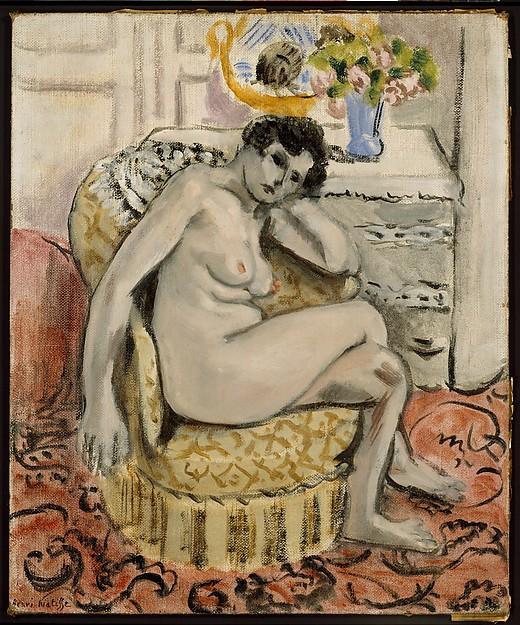 Nude in an Armchair (Nu au fauteuil)