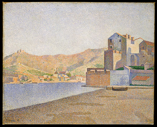 The Town Beach, Collioure, Opus 165 (Collioure. La Plage de la ville. Opus 165)