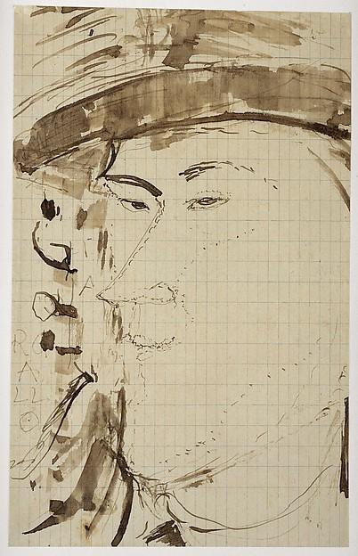 Portrait of the Sculptor Pablo Gargallo