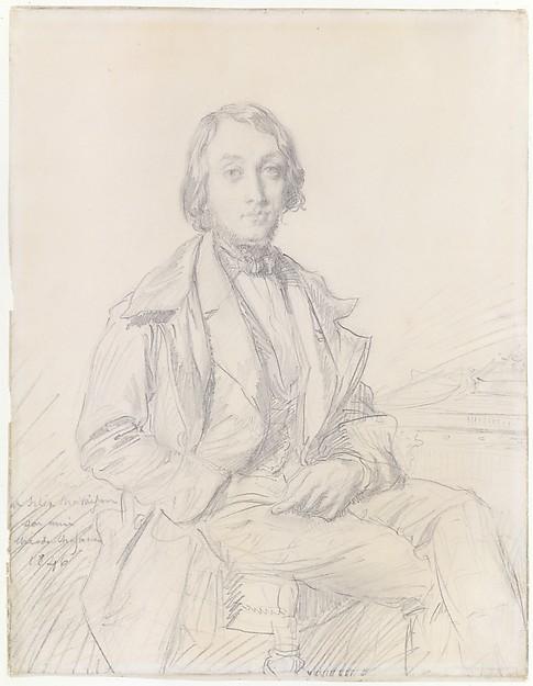 Portrait of Félix Ravaisson