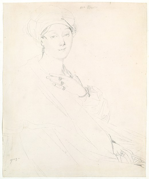 Portrait of Madame Rhode (Rhoda?)