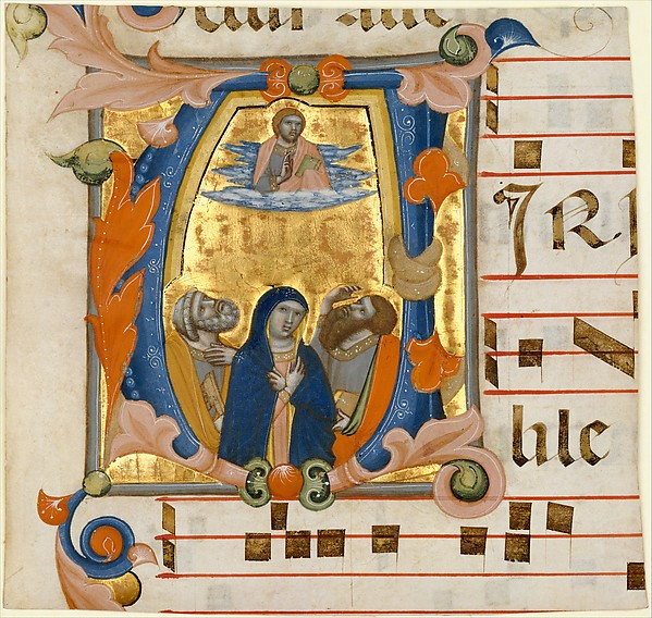 Ascension in an Initial V