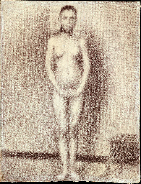 "Study for ""Les Poseuses"""