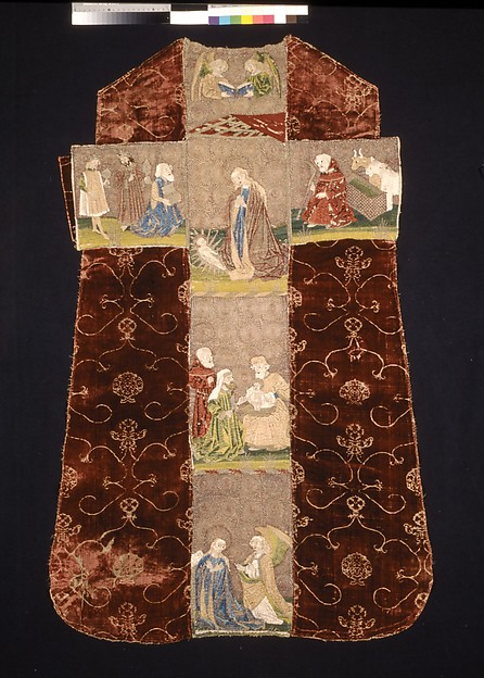Chasuble Back with an Orphrey Cro