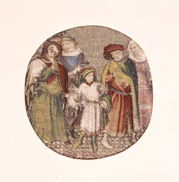 Saint Martin Announcing to His Parents That He Will Become a Christian