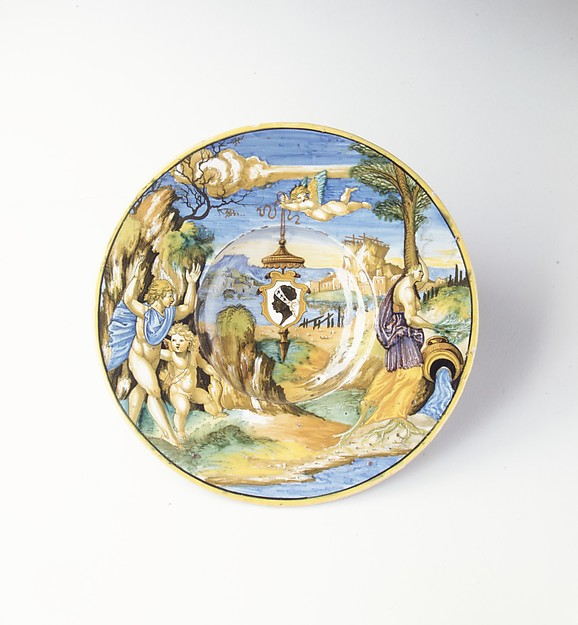 Armorial dish: The story of Apollo