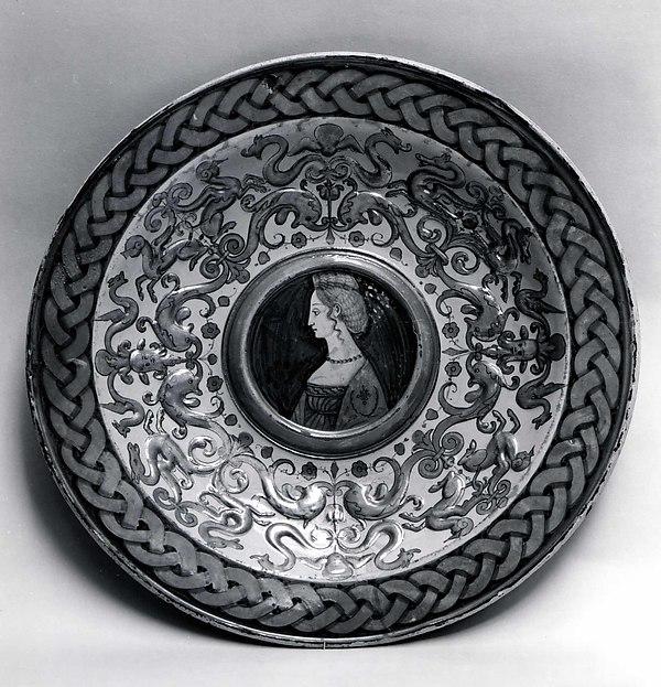 Dish for a ewer (bacile da versatore)