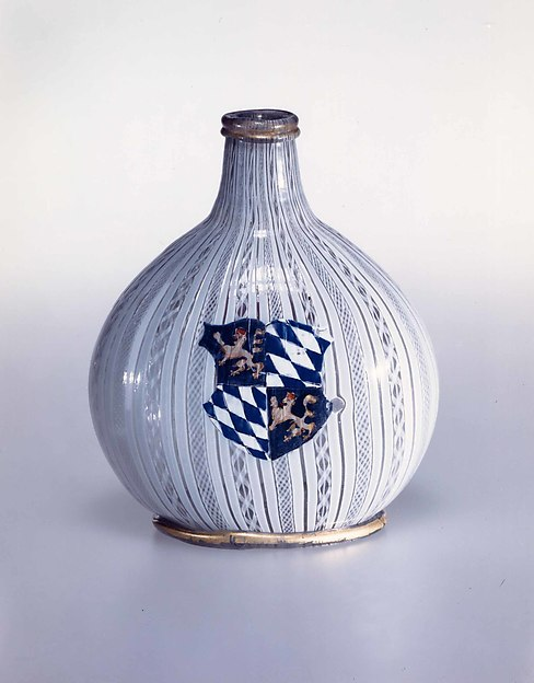 Armorial flask