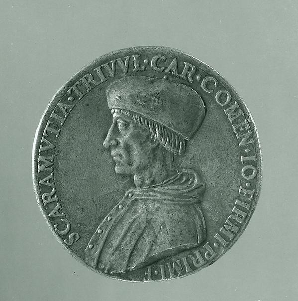 Medal:  Scaramuccia Trivulzio