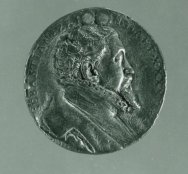Medal:  Bust of Sebastian Zäh