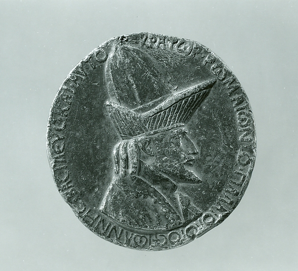 Medal:  John VIII Palaeologus