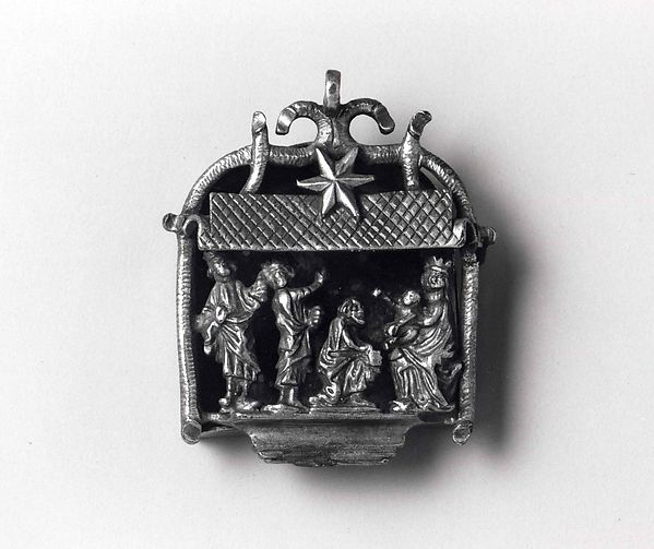 Pilgrim Badge with Adoration of the Magi