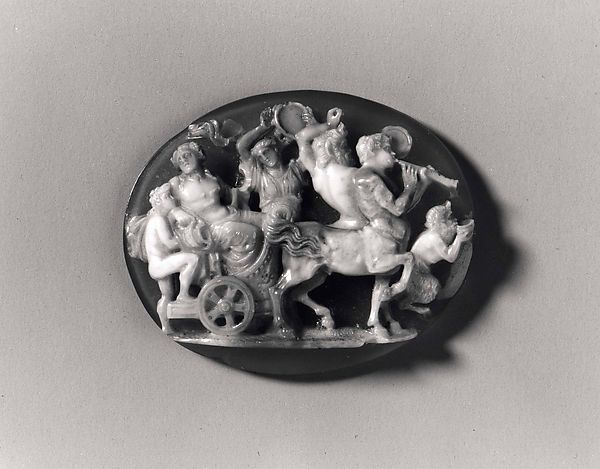 Cameo with the Triumph of Bacchus
