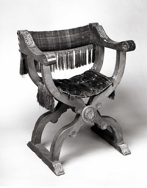 Hip-joint armchair (Dantesca type)