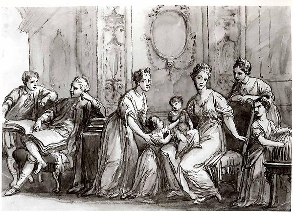 An English Family Group