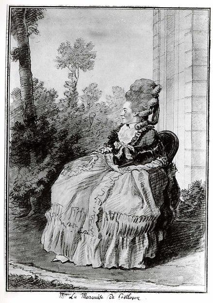 Madame la Marquise de Coëtlogon