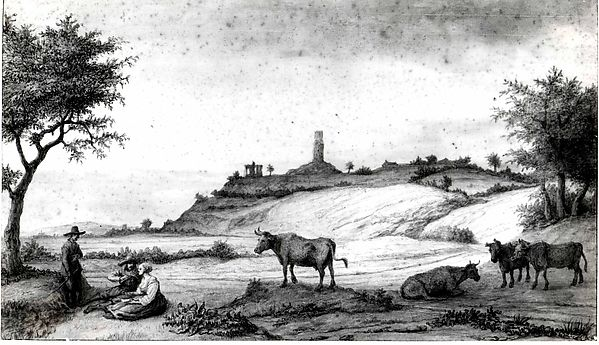 The Monterberg Seen from Kalkar
