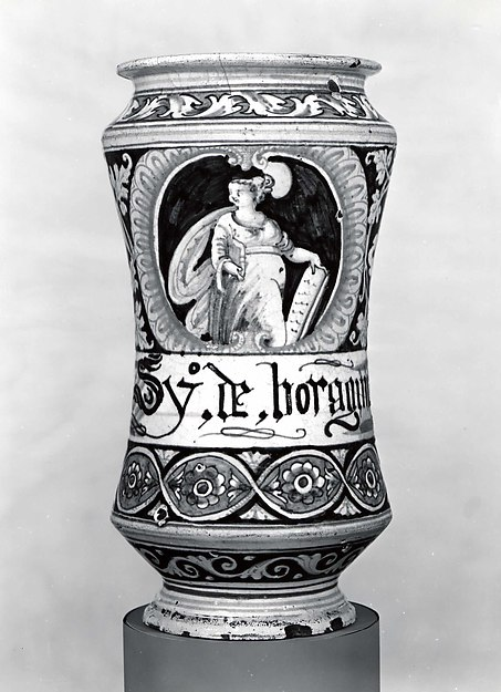 Apothecary jar (albarello)