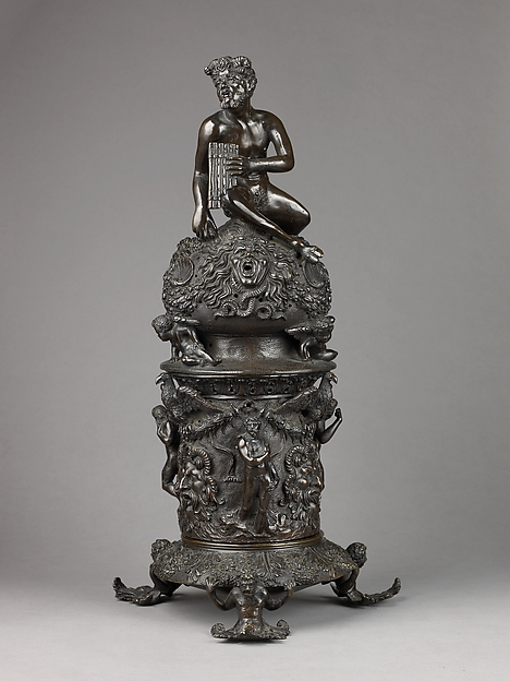 Perfume Burner Surmounted by a Satyr