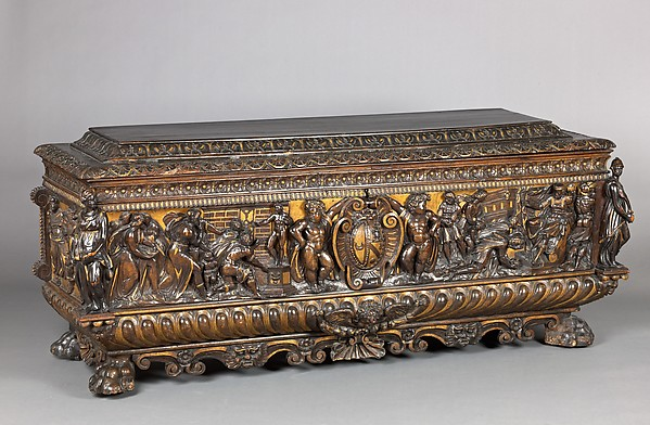 Cassone (chest), pair with 1975.1.1947