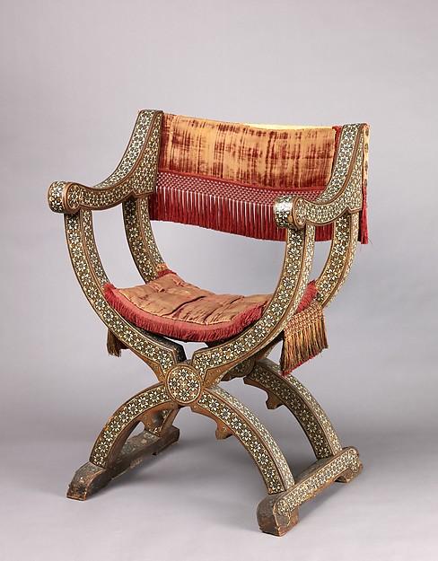 Hip-joint armchair (sillón de cadera or jamuga)