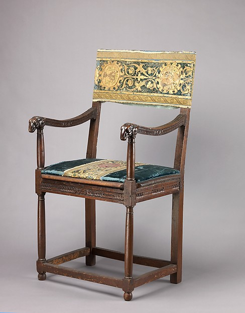 Armchair (chaise à bras, pair with 1975.1.2000)
