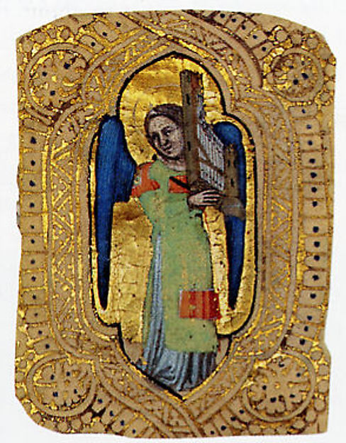 Angel with Portative Organ