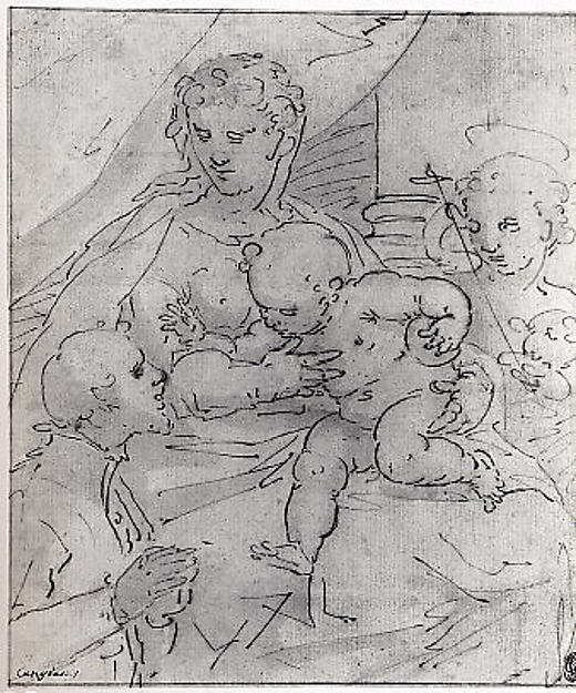 Madonna and Child with the Young Saint John the Baptist and a Donor