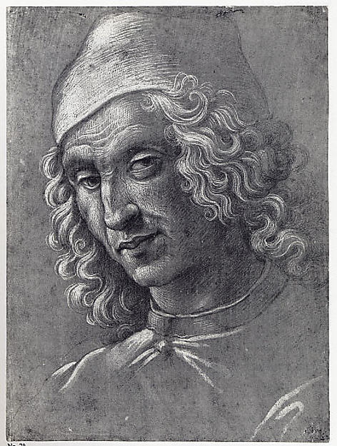 Head of a Man Wearing a Cap