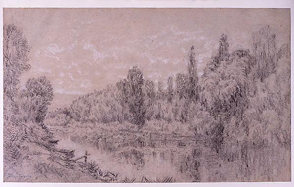 Landscape along a River